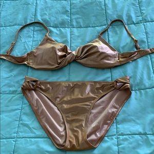 2Pc bikini  top L bottom XL